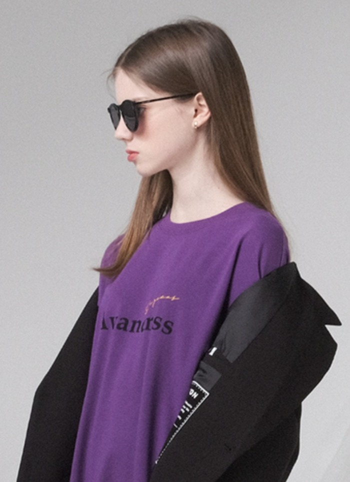 GEEGEE T-SHIRT PURPLE